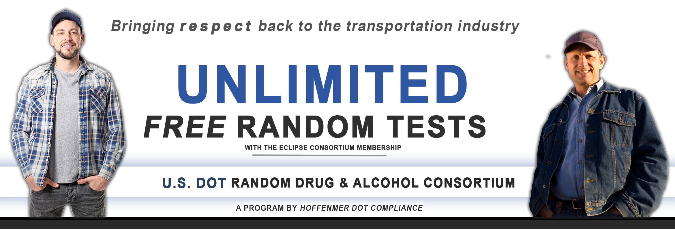 National DOT Random Drug Testing Program for Trucking Companies
